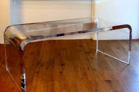 acrylic and glass coffee table bedroom acrylic furniture lucite modern wortman desk acrylic