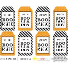 printable halloween gift tags halloween boorific u0026 bootiful day