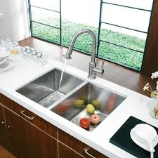 Kitchen Sink Faucet Combo Brilliant Lowes Kitchen Sink Faucets Medium Size Of Throughout And