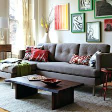 Charcoal Sofa Bed Charcoal Grey Couch Decorating Ideas Example Of An Expansive