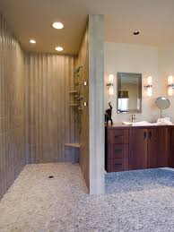 open shower bathroom design open concept shower houzz