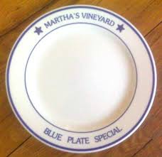 plate you are special homer laughlin martha s vineyard blue plate special at