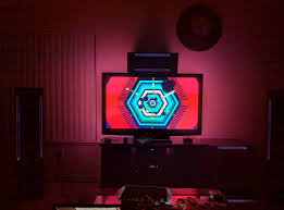 home theater backlighting dream screen led back lighting for your tv home theater forum