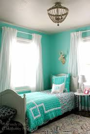 Shades Of Light Blue by The Shabby Nest One Room Challenge The Teen U0027s Bedroom Reveal