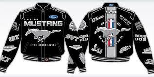 ford mustang jacket ford mustang racing jackets