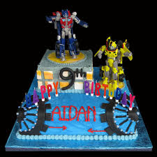 transformers cake decorations aidan s cakes