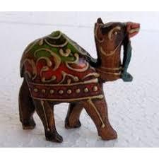 wooden elephant figurine online shopping india buy handicrafts
