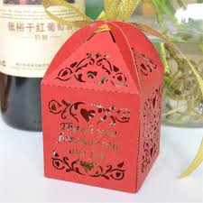 indian wedding gift box foldable chocolate packaging laser cut indian wedding gift favor