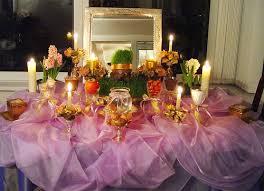 Iranian New Year Table Decoration by Stockton San Joaquin County Public Library Just Life Persian