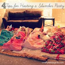 Halloween Slumber Party Ideas by 4 Tips For Hosting A Slumber Party Crafty Texas Girls Slumber