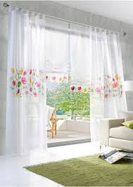 new arrival printed plant window curtain beautiful pastoral