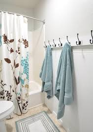 Pinterest Kids Bathroom - i love these hooks for the kids bathroom instead of a towel bar