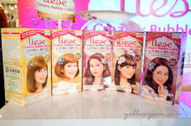 liese creamy bubble hair color for busy and newbies like me