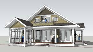 small beach house plans cottage contemp hahnow