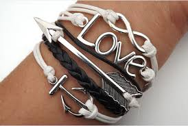 anchor jewelry bracelet images Anchor arrow infinity love bracelet bracelets hipsters jewelry png