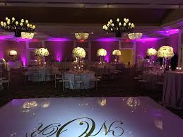 floor and decor lombard il white vinyl dance floor event lighting decor dj and photo booths