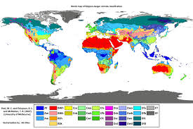 what is a climate map an updated köppen geiger climate map 1 af am aw bwh bwk bsh bsk