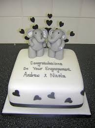 engagement cakes anniversary engagement cakes cake toppers redcar