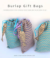 drawstring gift bags burlap gift bags are anytime of year creative