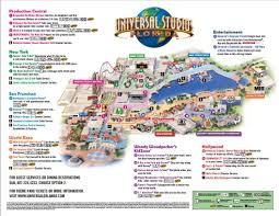Map Universal Studios Hollywood Universal Studios Map Universal Studios Map Universal Studios
