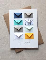 tiny envelopes card birthday nautical arte posral