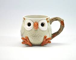 owl mug 330 best images about porcelana fria on ceramics