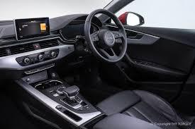 audi dashboard a5 2017 audi a5 2 0tdi sportback sport the torque