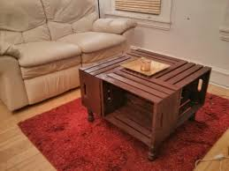 coffee table marvellous crate coffee table diy designs diy crate