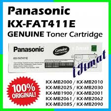 Toner Panasonic Kx Mb2085 panasonic 411e kx fat411e kxfat411 genuine toner catridge for