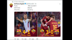 Meme Game - chions league as roma s meme game is on point as team stun