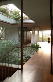 courtyard home designs home designs interior pool serene house with courtyard pond