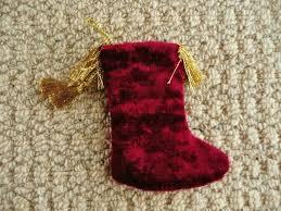 red u0026 gold star christmas stocking tree decoration xmas tree