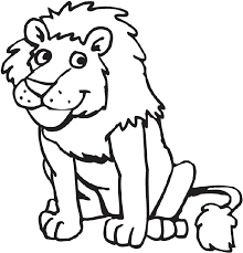 african lion coloring pages info
