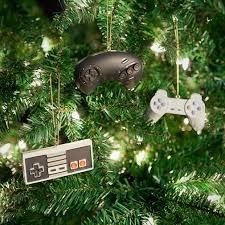 classic controller ornament set a geeky parent s