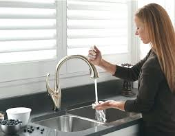 free faucet kitchen touch free faucet kitchen best touch free kitchen faucet goalfinger