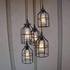 wire light bulb cage light cages vintage iron cage lighting metal hanging l guard for