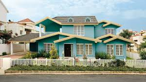 Indian Home Colour Outside Impressive House In India Stirring