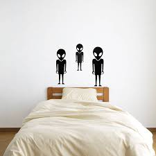 online get cheap custom bedroom cabinets aliexpress com alibaba aliens are coming wall art stickers for bedroom living room home decor custom color available wall