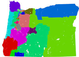 New York State Assembly District Map by Oregon State Senate Redistricting