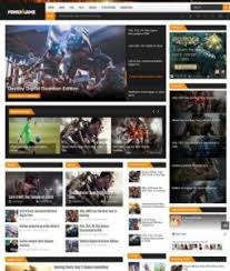 games blogger templates 2018 free download