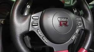 nissan gtr steering wheel nissan gtr r35 replacement carbon fibre shift paddles youtube