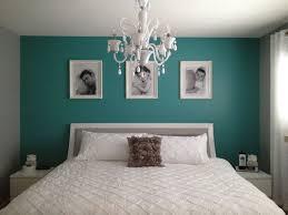 chambre et turquoise chambre à coucher bleu lustre élégamment phantaisie image