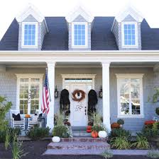 halloween spooky porch cape cod farmhouse cambridge home company