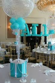 Centerpieces Sweet 16 by Black U0026 Turquoise Sweet Sixteen Centerpiece With Water Beads