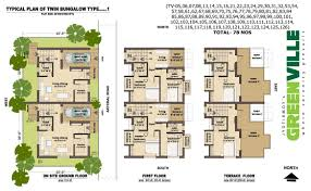 Twin Home Floor Plans More Twin Home Floor Plans Home Building Plans 61016