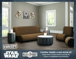 star wars living room cantina living room furniture set concept regal robot
