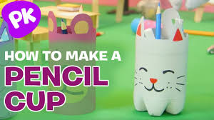 how to make a pencil cup holder easy crafts for kids diy craft