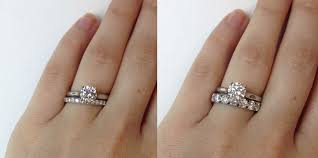 reset wedding ring 4 unique ways to wear anniversary bands