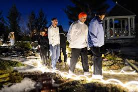 photos luminous exhibition lights up allen centennial garden u2013 ecals