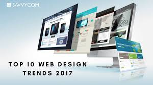 web design trends 2017 colorful bold and smart savvycom software